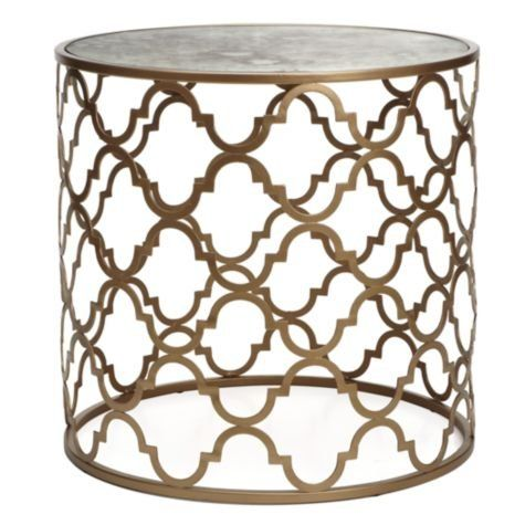 Moroccan Side Table Gold Side Tables Meridian Side
