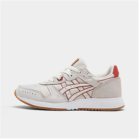 asics women's gellyte classic casual shoes in white in