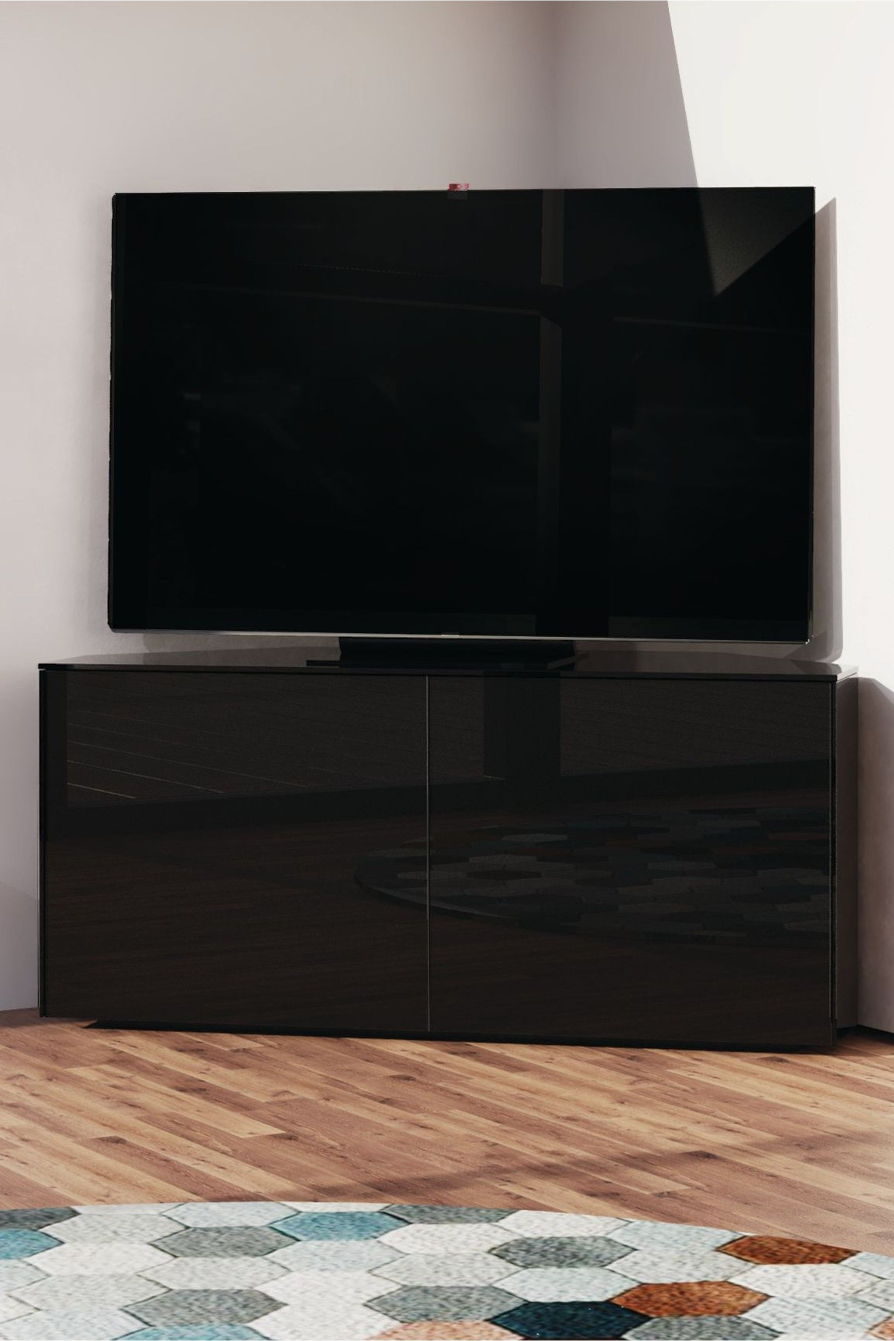 Frank Olsen Smart Corner Tv Stand In 2020 Corner Tv Unit Corner