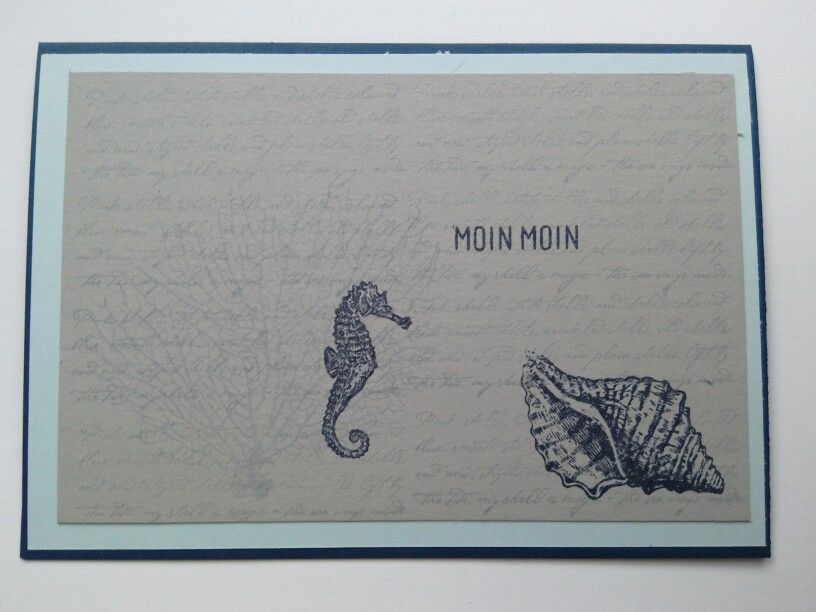 By the tide - Stampin'Up!