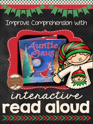 Christmas Interactive Read Aloud Classroom Freebies Interactive Read Aloud Christmas Reading Activities Christmas Read Aloud