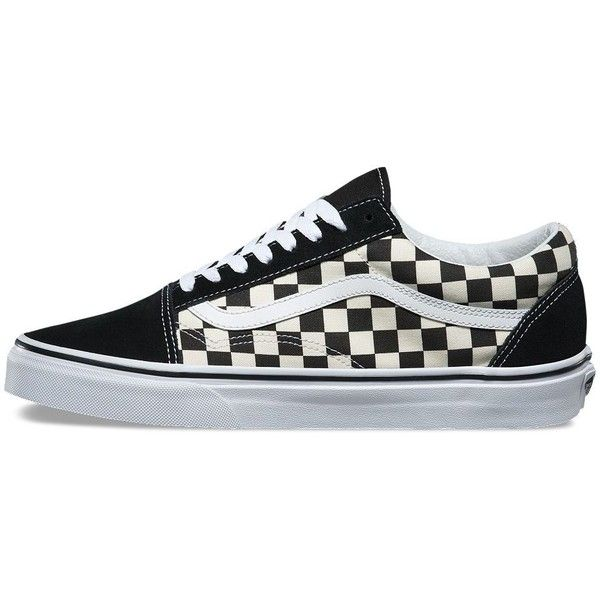 ee640f00d42 Vans Primary Check Old Skool ( 60) ❤ liked on Polyvore featuring men s  fashion