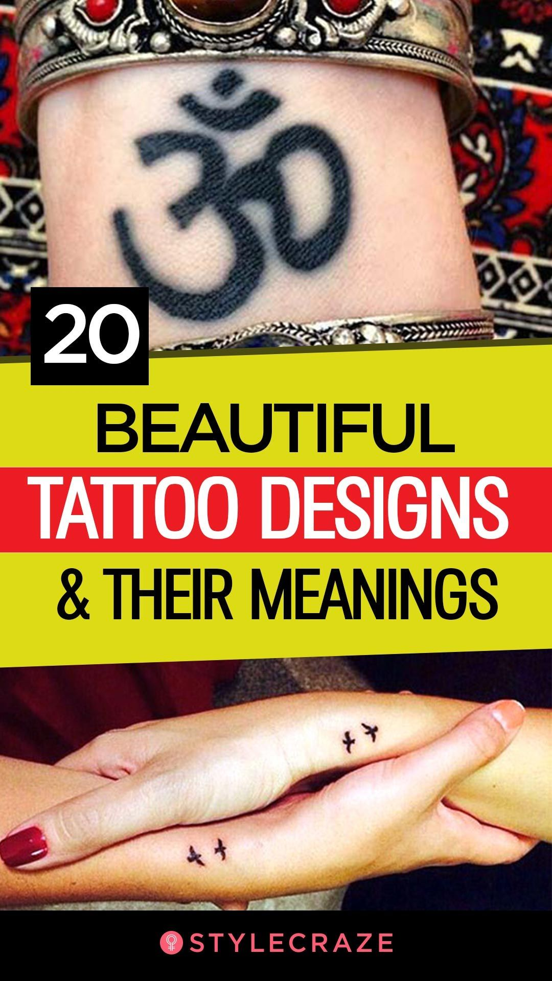 20 Most Popular Tattoo Designs And Their Meanings – 20   Tattoo ...
