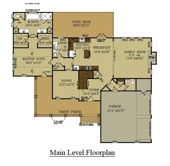 4 Bedroom Farmhouse Floor Plan | Car garage, Farmhouse house plans ...