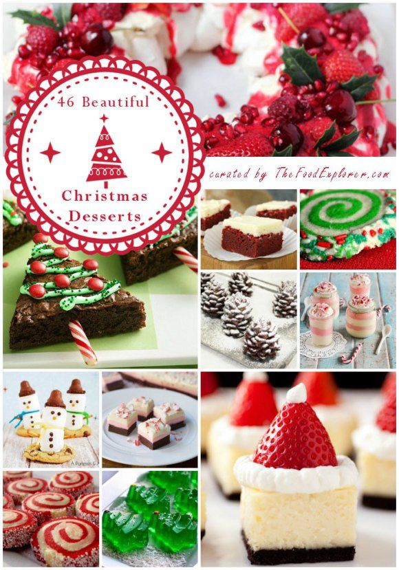 The Most Beautiful (and Easy) 46 Christmas Desserts on the Net   The Food Explorer