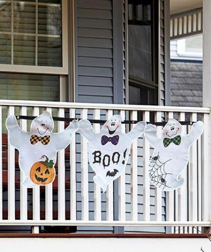 #ad Super cute Halloween bunting - Outdoor Halloween decorations - BonBon Rose Girls