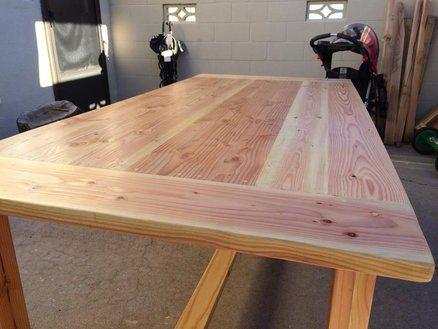 Kitchen Table Douglas Fir With, Douglas Fir Furniture