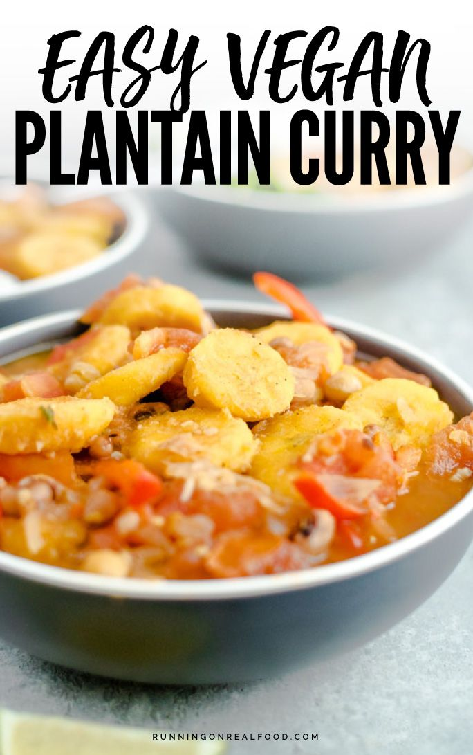 Vegan Plantain Curry