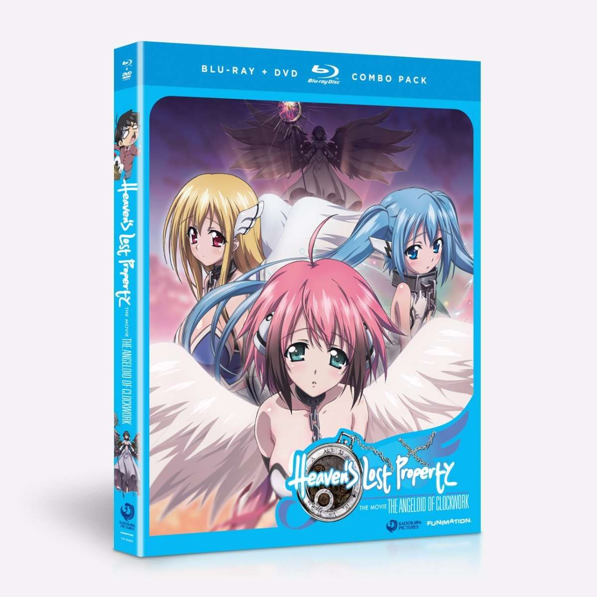 Heavens lost property the angeloid of clockwork home