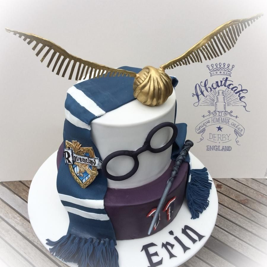 Hello! This was made with love for my niece, who loves Ravenclaw. I thoroughly enjoyed making the snitch and the badge! Thanks for looking x