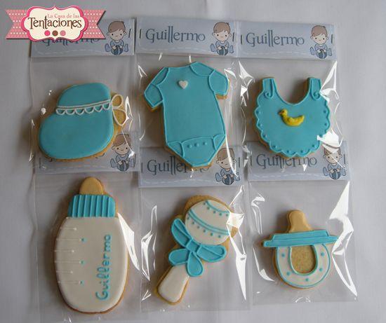 galletas decoradas para bautizos