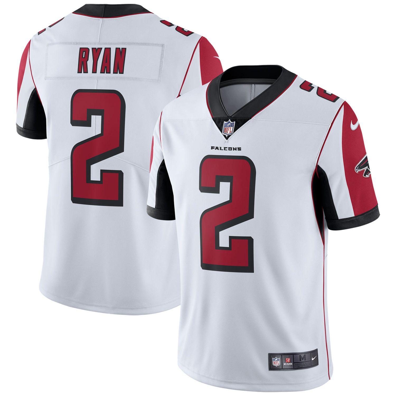 Men S Atlanta Falcons Matt Ryan Nike White Vapor Untouchable Limited Player Jersey Atlanta Falcons Matt Ryan Ray Lewis Jersey Nfl Jerseys