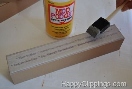 34+ Mod podge quotes on wood ideas