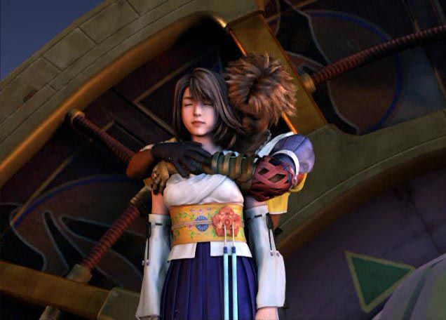 Image result for yuna and tidus