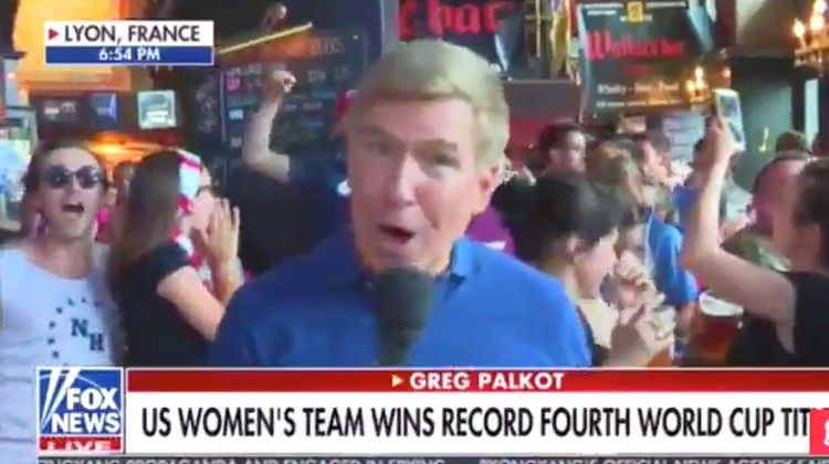 World Cup Fans Chant 'F**k Trump' During Fox News Live