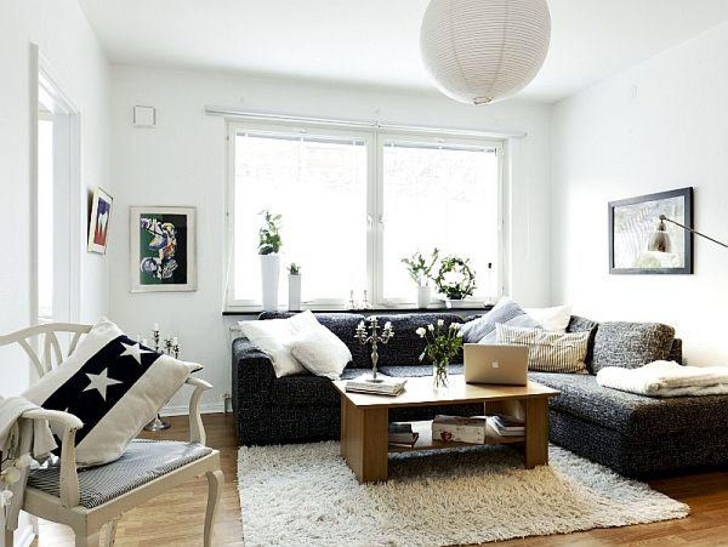 Small White Elite Apartment Living Room Design Ideas For June With L Shaped Blac Apartment Living Room Design Small Apartment Living Room Apartment Living Room L living room designs