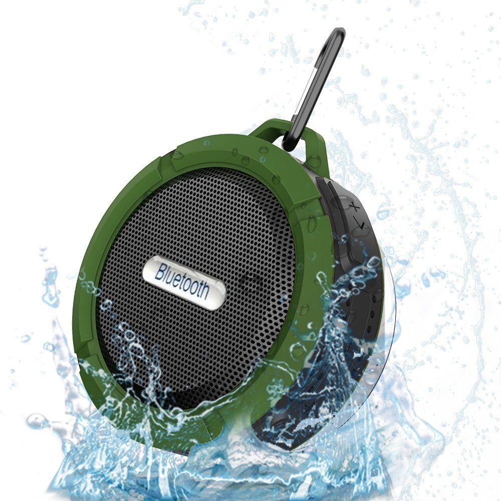 C6 Waterproof Outdoor Bluetooth Speaker Tf Wireless Music Loudspeaker Portable Shower Bicycle For Bike Bathroom