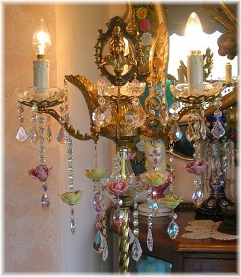 ~capodimonte chandelier ~*