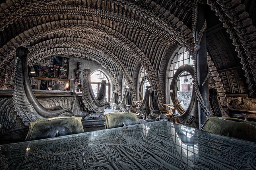 HR Giger Bar - Switzerland | Travel | Pinterest | Hr giger ...