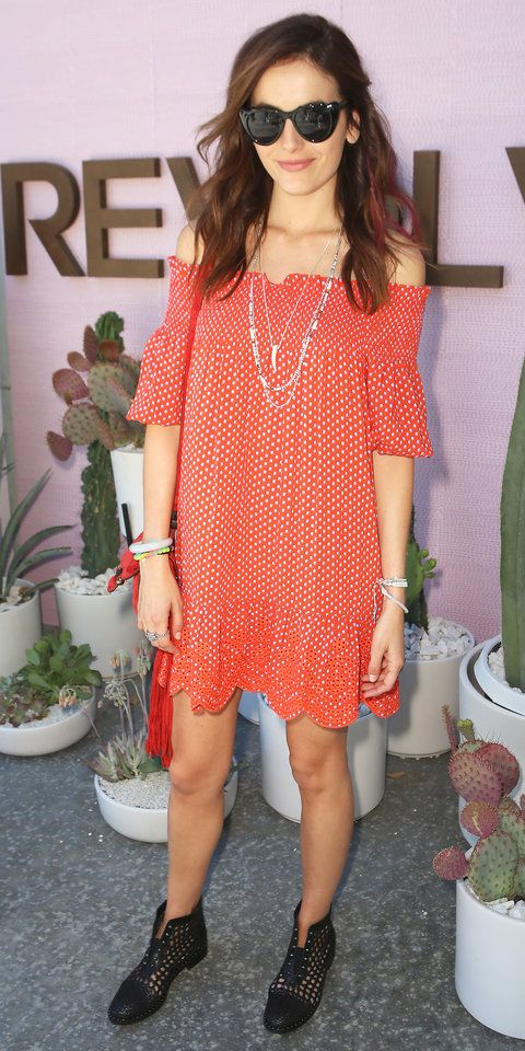 Celebrity Fashion at Coachella 2016 | InStyle.com |  Camilla Belle rocking Stella&Dot's Tiburon necklace