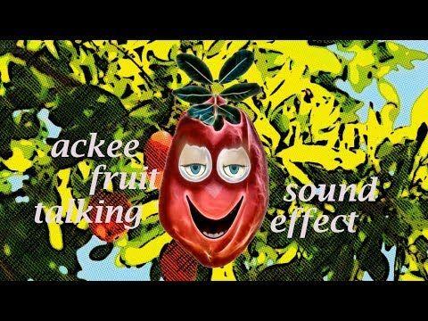 Ackee Fruit Talking - Sound Effect - Animation   Talking