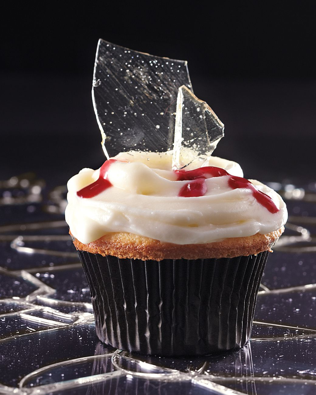 broken glass cupcakes martha stewart living the recipe for the glass - Scary Halloween Cupcake Ideas