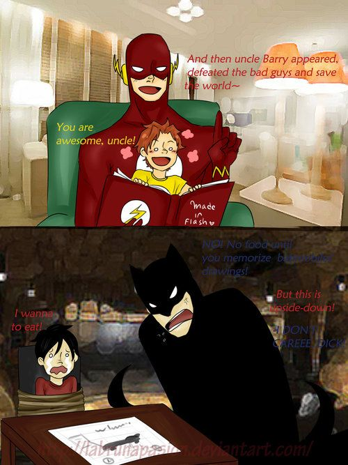 barry and wally slash   Young Justice: Small differences by LabrunaPasion~ Happy Father's ...
