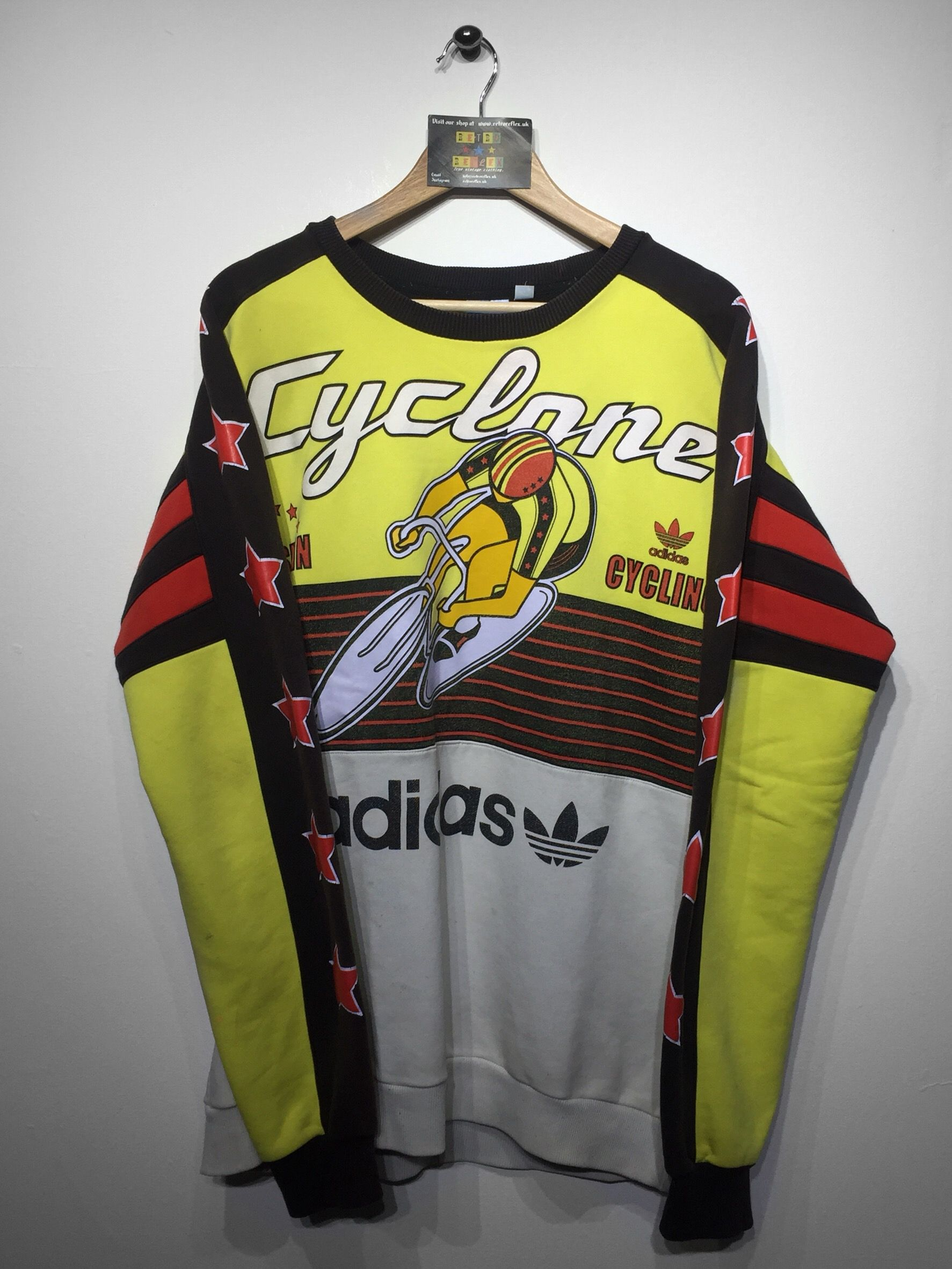 Adidas Cyclone cycling sweatshirt Size Large (but Fits Oversized) £110  Website➡️ f910009594f