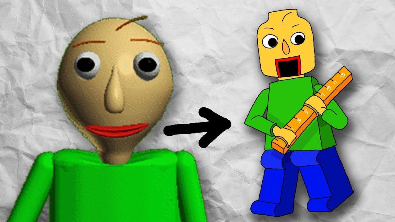 Baldi S Basics Lego Version L Baldi Artist Flipadraw With Images Artist