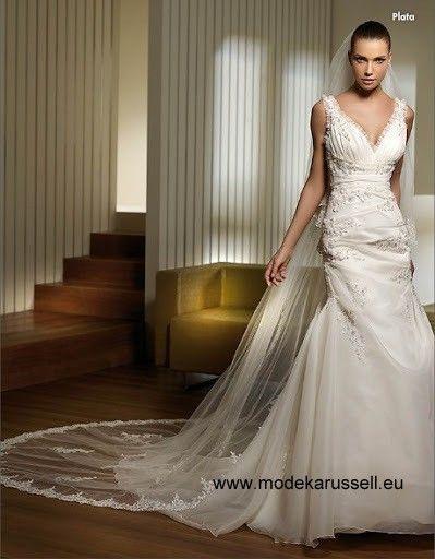 Italienisches Plata Fishtail Linie Hochzeitkleid   Brautkleider 2018 ...