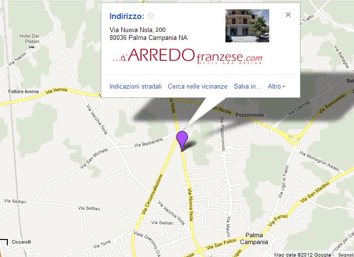 ...d'ARREDO ☎ Phone 081.8241546 ☏ Fax 081.8246184