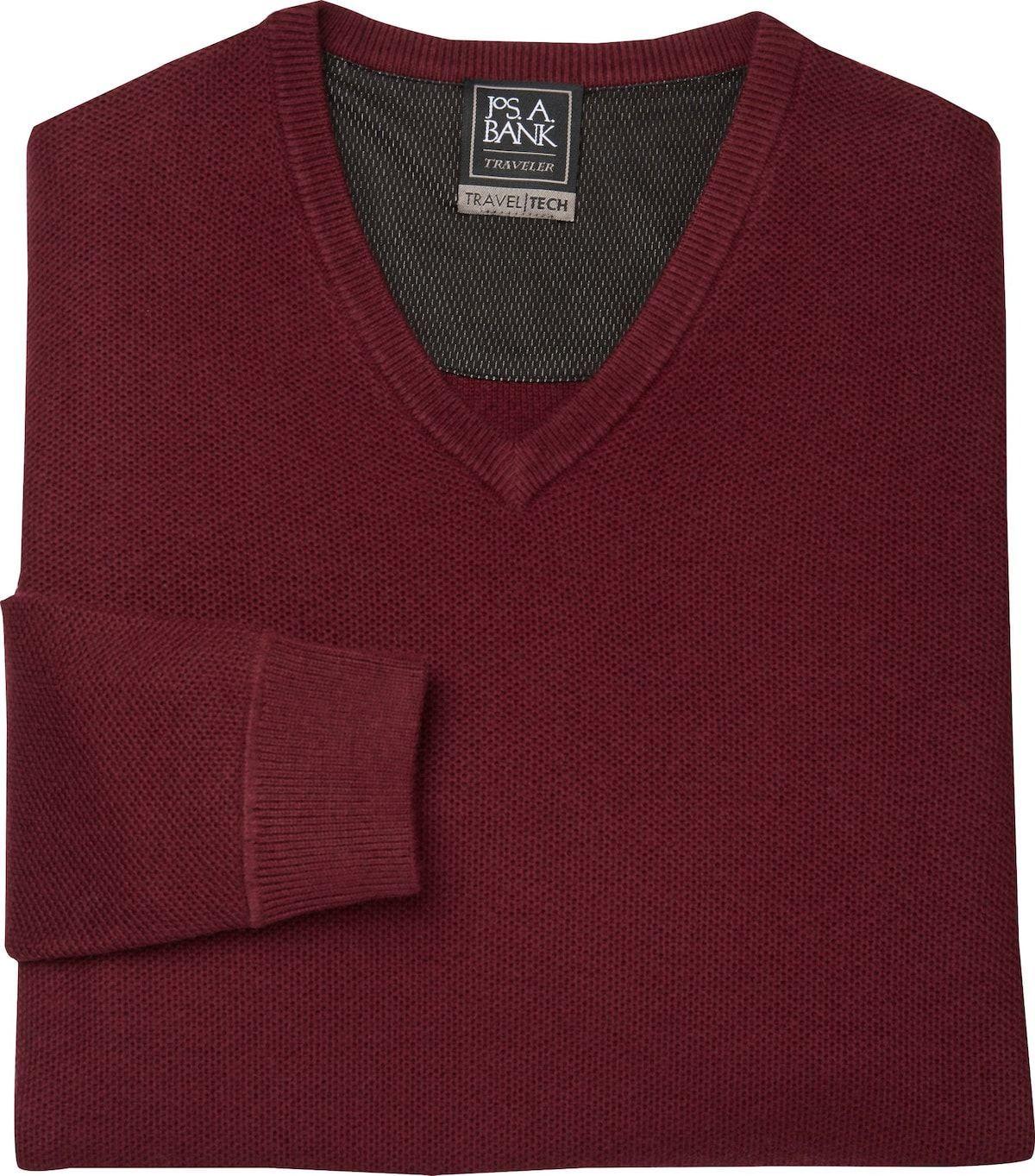 Travel Tech V Neck Merino Wool Blend Sweater Big Tall Clearance Wool Blend Sweaters Merino Wool