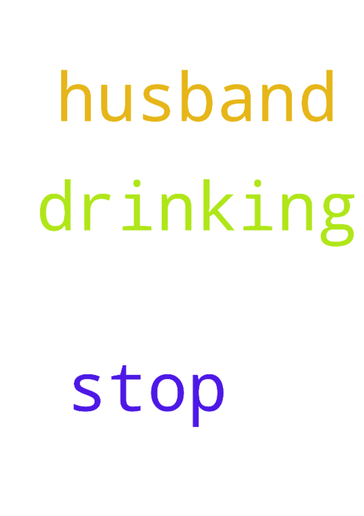 how can i get my husband to stop drinking