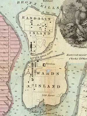 Randall's and Ward's Islands. NewYork City's Potter's Field ... on tuscaloosa marine shale field map, grand park field map, central park map, new york city area map, flanders field map, randall's island new york map, city island map, randall island ny map, bear creek park field map,