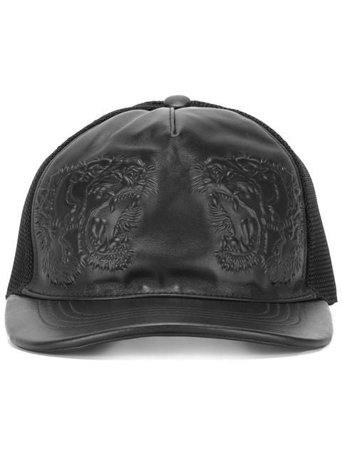 5d215084f48 GUCCI tiger embossed baseball cap.  gucci  cap