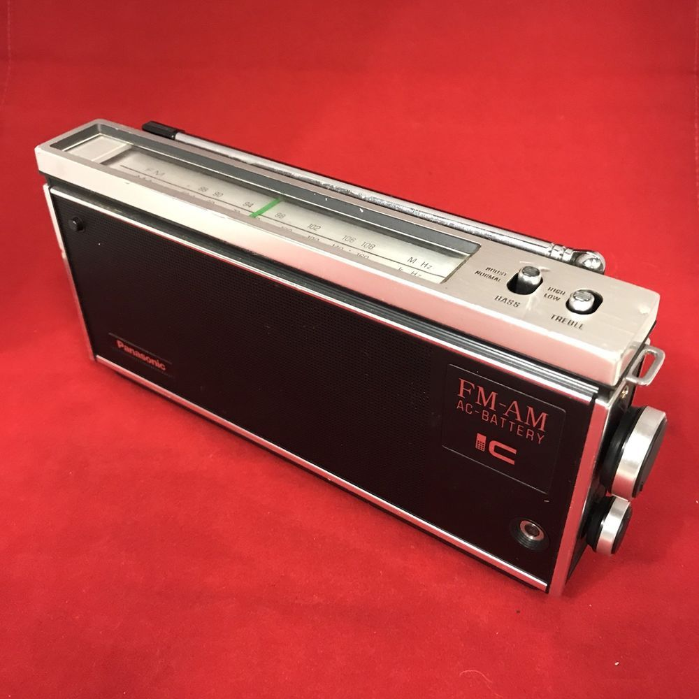 Vintage Transistor Radio Bluetooth Conversion 1970s Panasonic Shell Ebay Transistor Radio Ebay Vintage