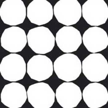 Latest Designer Fabric 'Kivet Fabric in black, white' by marimekko (FIN). Buy online or visti our fabric retail store in Christchurch.