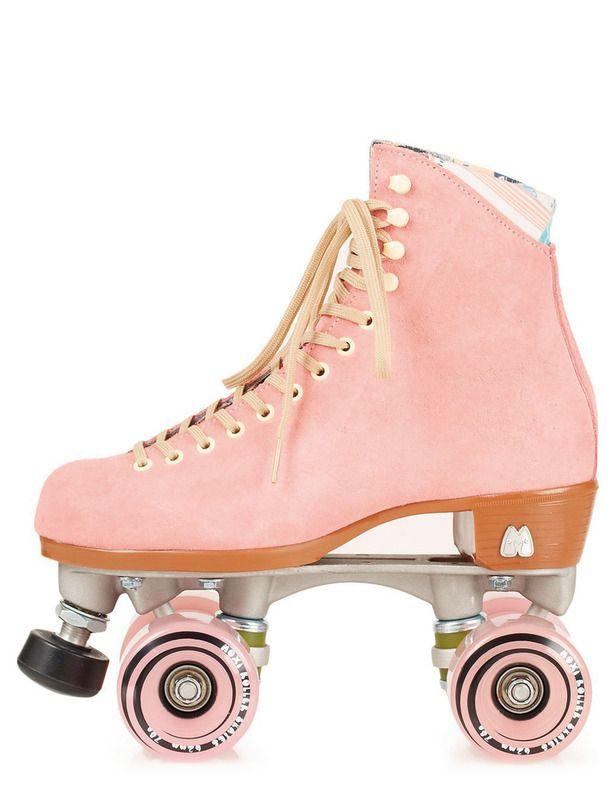 Regalos Para Todos Patines De 4 Ruedas Zapatos De Color Rosa Patinar