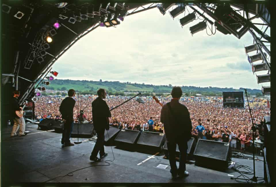 Oasis The Early Years In Pictures Glastonbury Oasis Band Oasis Live