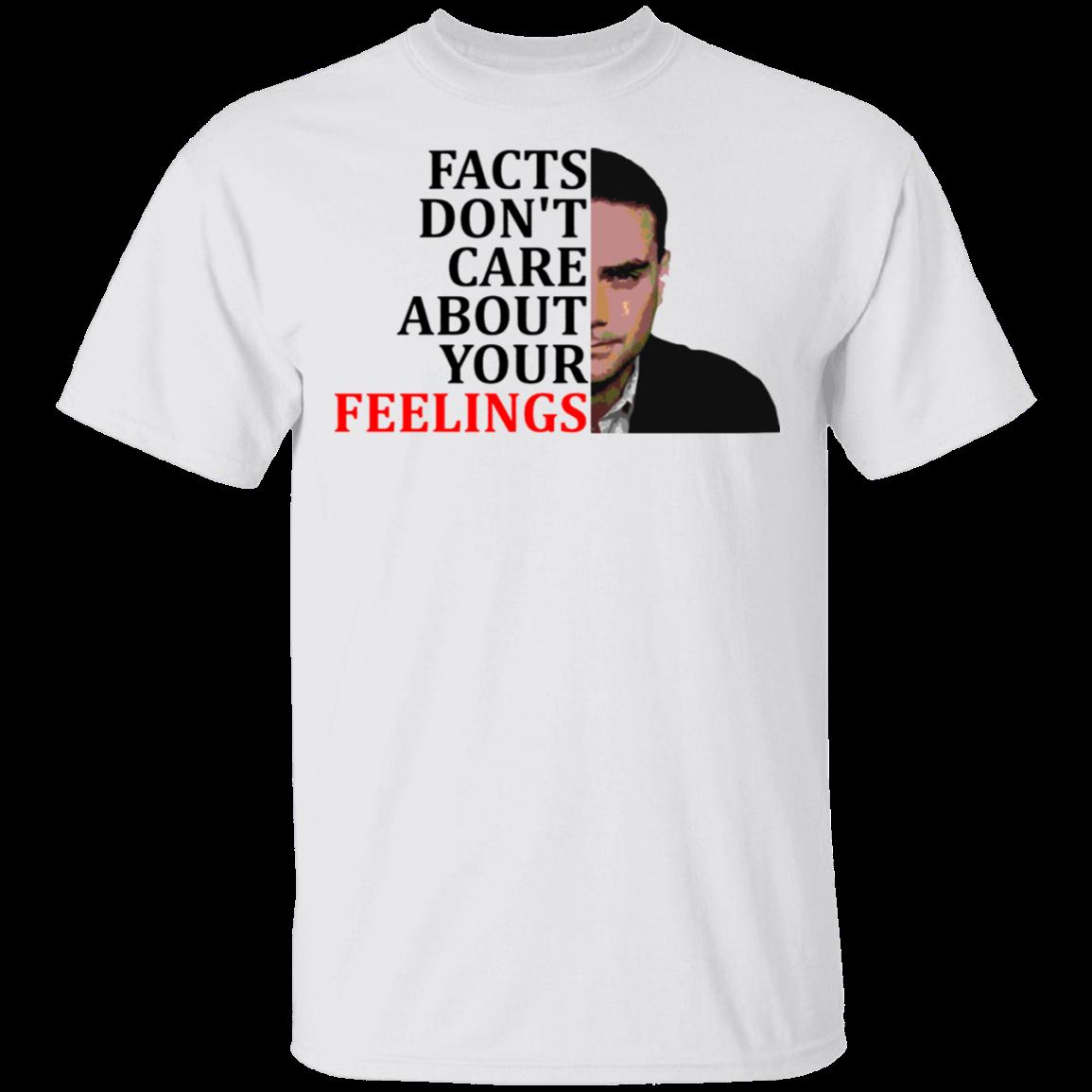 Ben Shapiro Facts Don T Care About Your Feelings Shirt Conservative Shirt Ben Shapiro Merch White L In 2021 Feeling Shirts Conservative Shirt Shirts With Sayings
