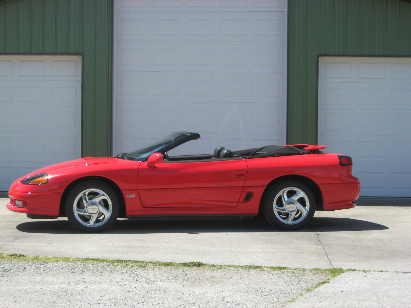 1991 dodge stealth rt tt straman convertible precursor to the mitsubishi 3000gt vr4 spyder