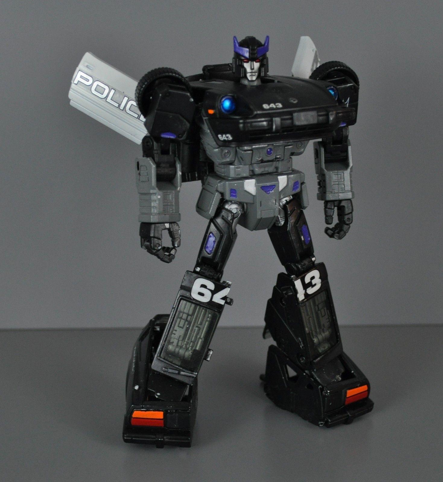 Transformers custom G1 Masterpiece MP-17 movie Barricade ...