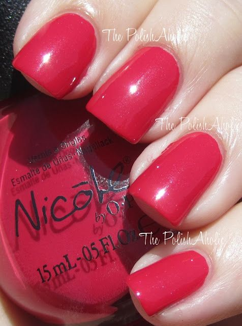 That's Totally Red-ical- Nicole by OPI♡♡♡♡♡.
