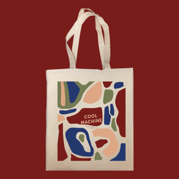 5841455e92 COOL MACHINE CONCEPT STORE organic tote bag