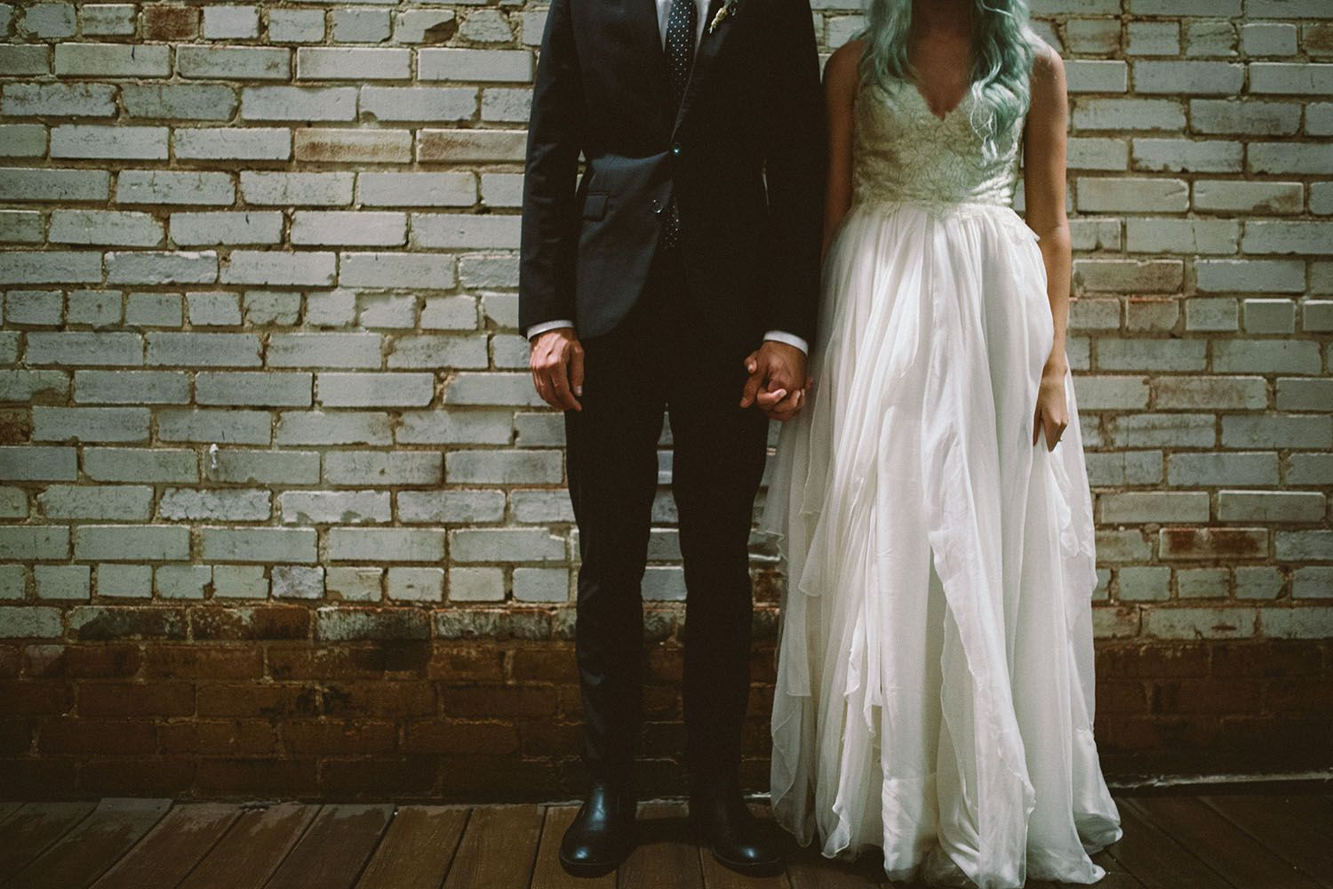 Seriously pretty natureinspired rooftop wedding