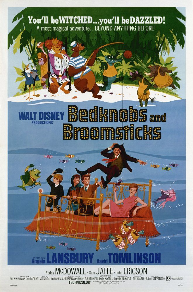 Bedknobs and Broomsticks (1971) - IMDb | Movies of the 70's