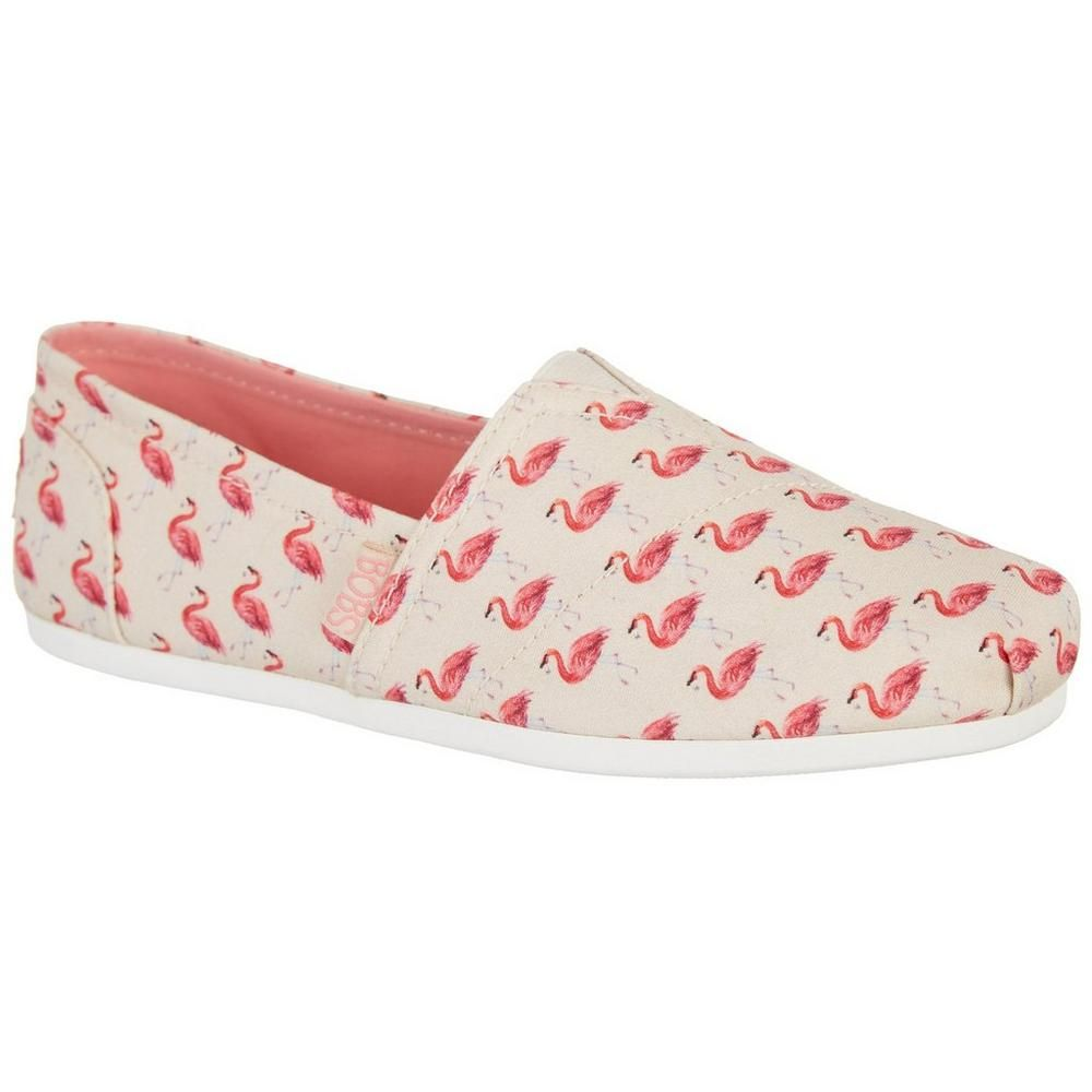 Skechers Womens Bobs Plush Flamingo Shoes Flamingo Shoes