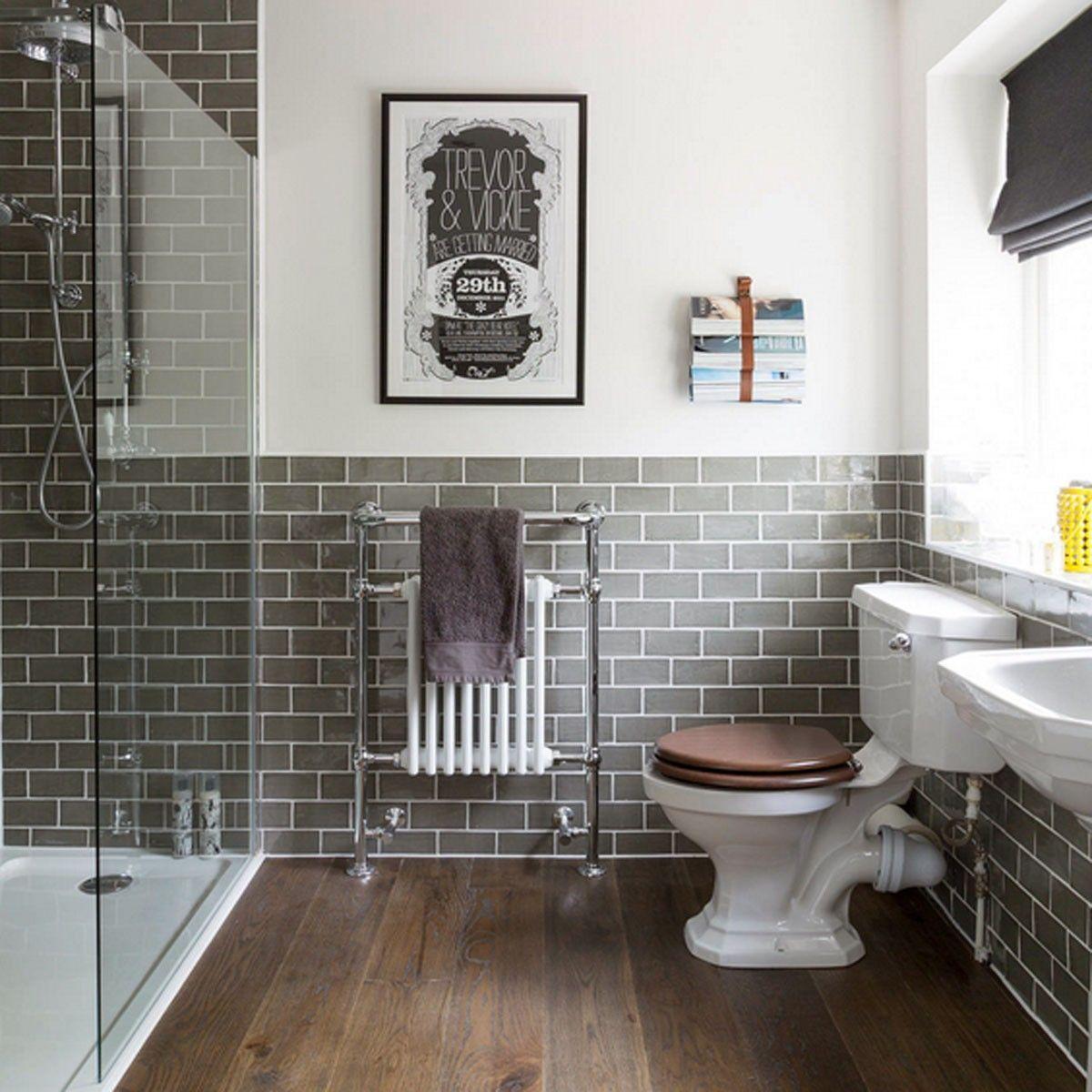 15x7 5 Rustico Grafito Wall Tile Crown Tiles Small Master Bathroom Bathroom Remodel Master Bathrooms Remodel