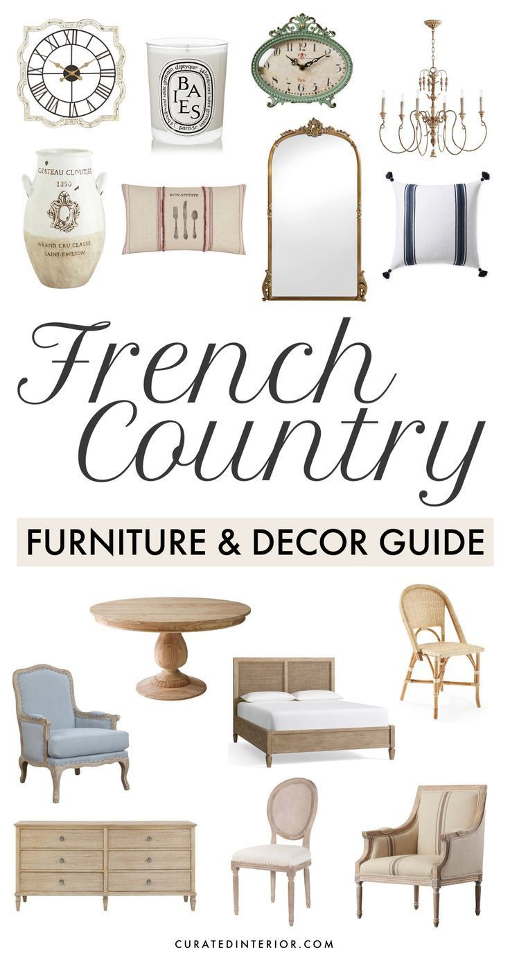 Photo of The French Country Furniture and Decor Guide – by Curated Interior #Complete #…