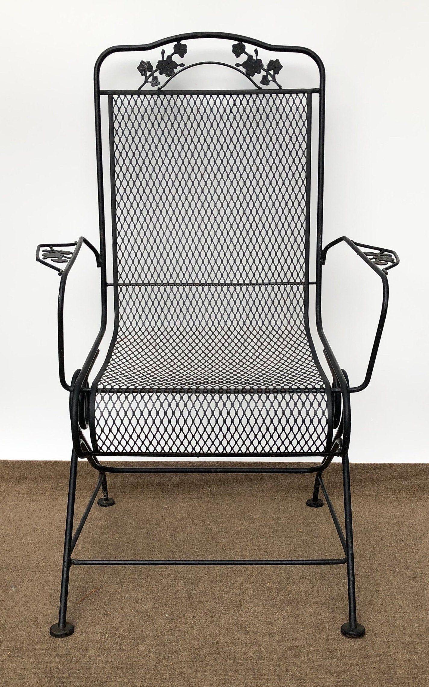 mesh chair patio chairs
